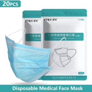 Lutte contre la pollution de germe de la poussière Meltblown masques médicaux pour le Médecin Infirmière