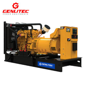 真新しい猫50Hz主な力564kw/706kVAの幼虫C18エンジンのディーゼル発電機De780e0