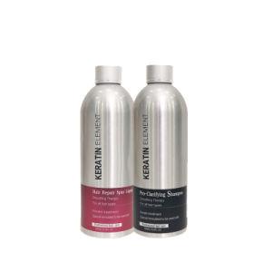 El tratamiento de queratina del cabello Acondicionador Champú orgánico/máscara