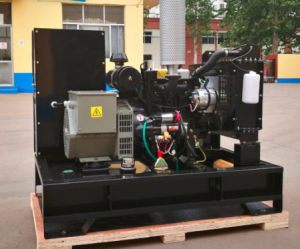 Petite sortie de veille 15kw générateur diesel avec moteur 4 cylindres