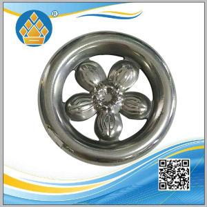 Fleur de la conception courante en acier inoxydable Accessoires pour portes et vitres