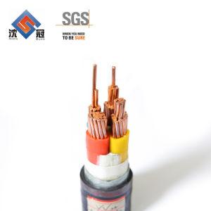 Câble d'alimentation de l'aluminium Shenguan Câble d'alimentation en PVC d'usine de conserves de fil sur le fil électrique fil rond industriel du câble de commande