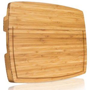 Стабильной мясную лавку, бамбук резки с стабильной футов