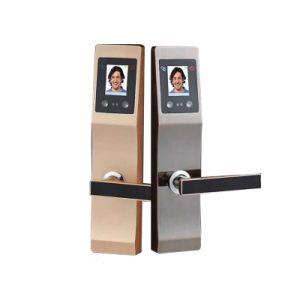 A tecnologia de identificação de face a face de Impressão Digital fechadura de porta inteligente de reconhecimento