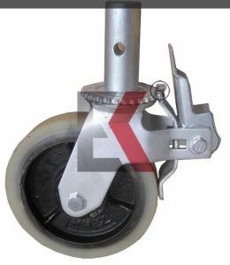 Com elástico Rodízio giratório roda de borracha