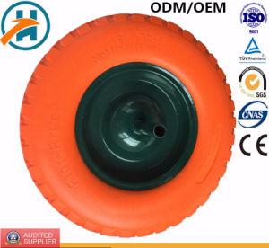Tela plana sólida livre espuma de PU Roda com Color PU (480/400-8)