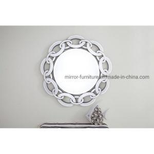 Nouvelle arrivée décoratifs brevetée Frameless miroir mural rond