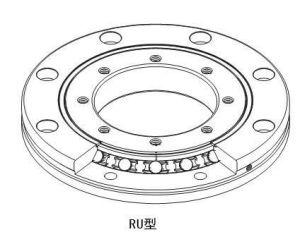 Ru85uucc0 P5roulements à rouleaux croisés (55x120x15mm) roulement robotique THK de Haute Précision du roulement de la bague pivotante