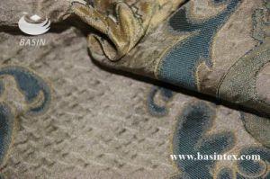 De Stof van het Gordijn van de Jacquard van de Polyester van 100% (bs1009-5)