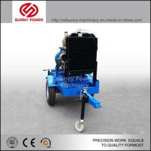 30kw Diesel Bomba de agua con remolque móvil