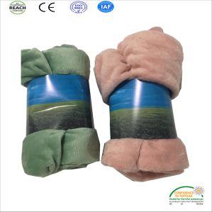 範囲標準明白なカラー珊瑚の羊毛の小さい赤ん坊毛布