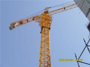 Grúa torre Qtz Hsjj125 (CT6018) de carga máxima 10T.
