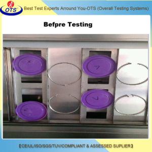 Simulação do ambiente da câmara de ensaio de envelhecimento intemperismo UV