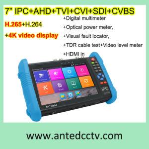 7 ZollhandIpc Ahd Tvi Cvi Plus des CCTV-Prüfungs-Monitor-at-9800 mit H. 265/H. 264, multi Funktions der Videodarstellung-4k