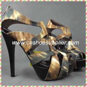 Les femmes de serpent sandales de haute qualité ! Sangle de cheville de style romain Lady sandales