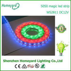 Ws2811 60 píxeles de la luz de tira flexible