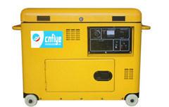 Fy6500 Gerador silenciosa de gasóleo profissional com a roda