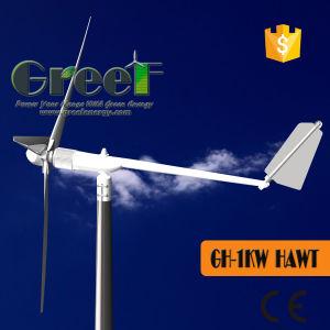 홈을%s 최신 판매 1kw 수평한 축선 바람 터빈