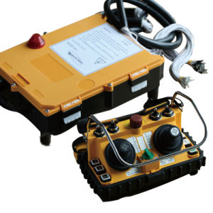 Control Remoto de Palanca de Mando Radio Industrial sin Hilos Dual F24-60