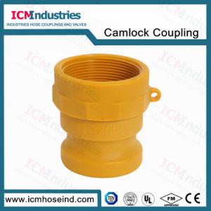 Tipo di plastica di nylon un accoppiamento rapido di Kamlock