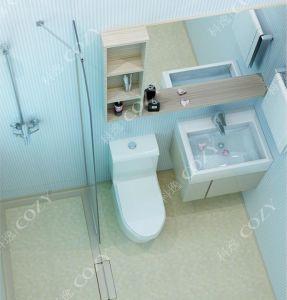 プレハブの浴室のポッド(BU1620)