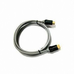 19p Male에 금 Plated Connector 19p Male를 가진 HDMI Cable