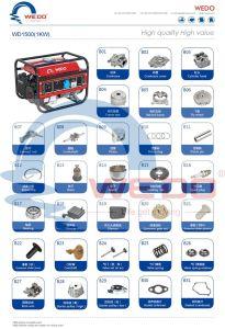 Carburador de 1000W/pistón/bujía de encendido/cojinete/generador de gasolina del cilindro de piezas de repuesto
