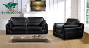 2020 Chesterfield en cuir au design moderne mobilier de maison à ossature de bois de coupe de loisirs canapé