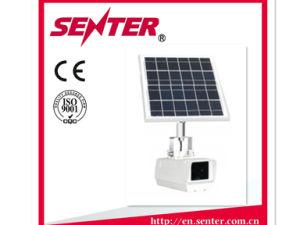 Senter St2303B IP65 Panel solar al aire libre de cámaras de vigilancia CCTV / visual del sistema de terminal y el sistema de control remoto para el canal de la línea de 3G 4G GSM de seguridad
