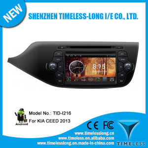 Sistema Android Car Audio para KIA sucesso 2013 com GPS Caixa de TV digital DVR iPod rádio BT 3G/WiFi (TID-I216)