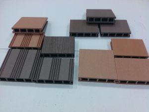 Um deck WPC, deck composto, WPC Board (H030145)
