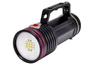 ダイビングのビデオライトはランプをとの撮影する100mの潜水のランタンLEDをグッドマン扱う防水する