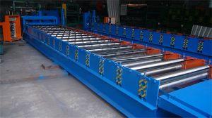 Appuyez sur machines à froid en acier bobine PPGI toit vitré machine à profiler de tuiles