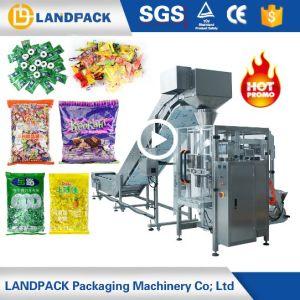 縦のフルオートマチックキャンデーのゼリーのピーナツまたはトウモロコシの穀物のパッキング機械