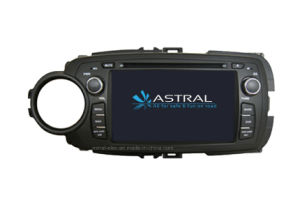 Fabbrica per Toyota Car Video GPS Yaris 2012 (AST-7086)