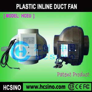 El cultivo hidropónico de baja potencia ventilador