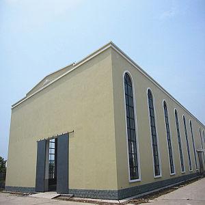 Construction en acier structurel bâtiment préfabriqué pour l'atelier et d'entrepôt