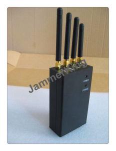 Teléfono móvil portátil y conexión inalámbrica Bluetooth Jammer, Portable 4G Móvil Bloque Jammer Teléfono celular CDMA GPS GSM 3G WiFi Lojack