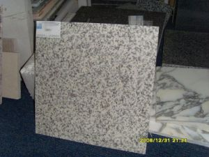 Lastra bianca cinese del granito del granito G655 di bianco