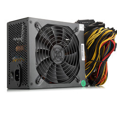Eth Btc Ethereum를 위한 ATX 금 Minging 전력 공급 1600W