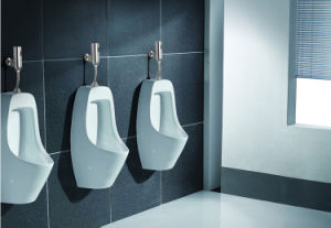 Messing hergestellter automatischer Urinal-Straßenreiniger im Chrom überzogen (FDS-A6804)