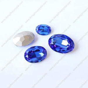 Dz-3002 Haut de la qualité du matériel K9 a fait l'arrière Crystal Stone Accessoires bijoux