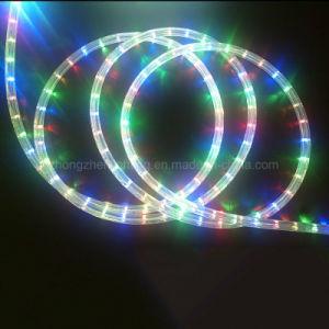 LED de mudança de cor da luz de corda Neon flexível à prova de LED piscando luzes de Corda