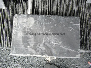 De natuurlijke Tegel van het Dak van de Lei van de Lei van het Dakwerk Grijze/Zwarte
