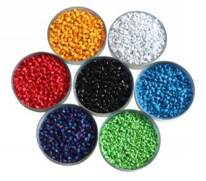 Il LDPE ricicla il colore blu di plastica Masterbatch