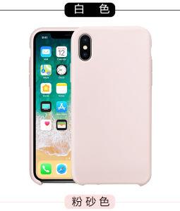 Жидкий силикон мягкая ткань из микроволокна для телефона iPhone Xs