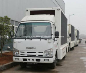5 T Isuzu pantalla LED de exterior publicidad el vehículo 4x2 LED móvil Truck