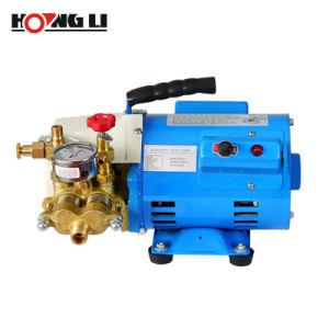 Canalización eléctrica de alta presión de agua Bomba de prueba con doble cilindro (DSY60A)
