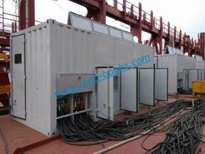 海洋の発電機テストのための6kv負荷バンク