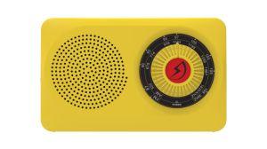 [بورتبل] [فم/م] [هيغ-سنستيفيتي] أسرة [قوليتي جفت] راديو ([لد] ضوء) أصفر